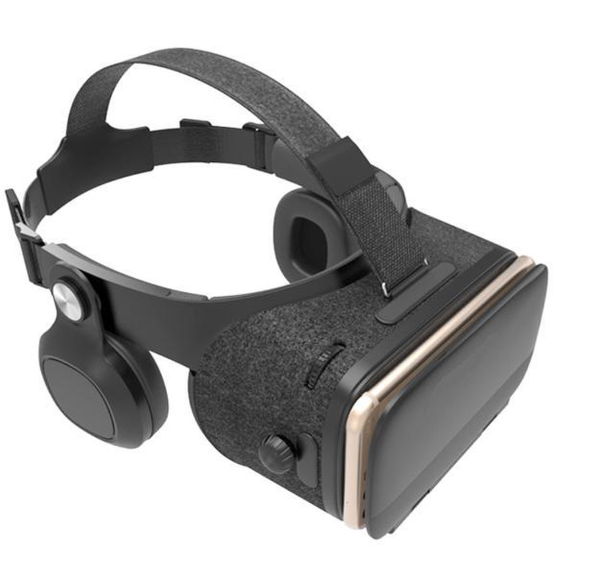 DrPhone VRZ5 - IMAX 3D Virtual Reality Bril - Ingebouwde Surround Sound VR Hoofdtelefoon Koptelefoon