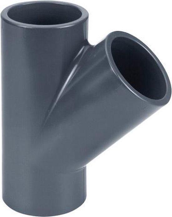 Effast PVC T-stuk 45 - 50 mm - lijmverbinding