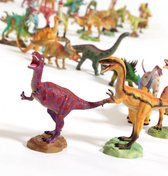 3 x Dinosaurus Speelfiguur - set met 3 x speelfiguur - verzameldino