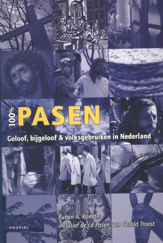 Cover van het boek '100% Pasen + CD' van Ruben A. Koman