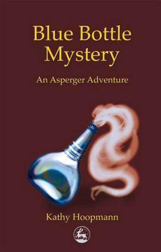 Boek cover Blue Bottle Mystery van Kathy Hoopmann (Paperback)