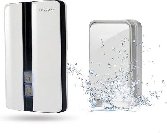 Luxe draadloze deurbel, waarbij batterijen niet nodig zijn - plug & play