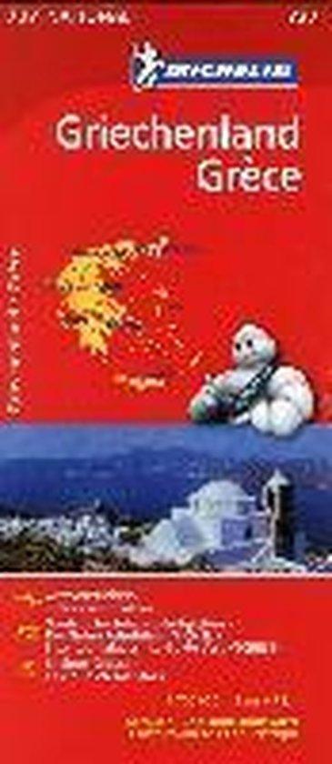 Michelin Nationalkarte Griechenland 1 : 700 000