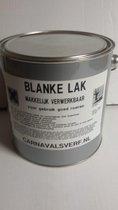 Blanke Lak / Vernis op alcyd basis 2L