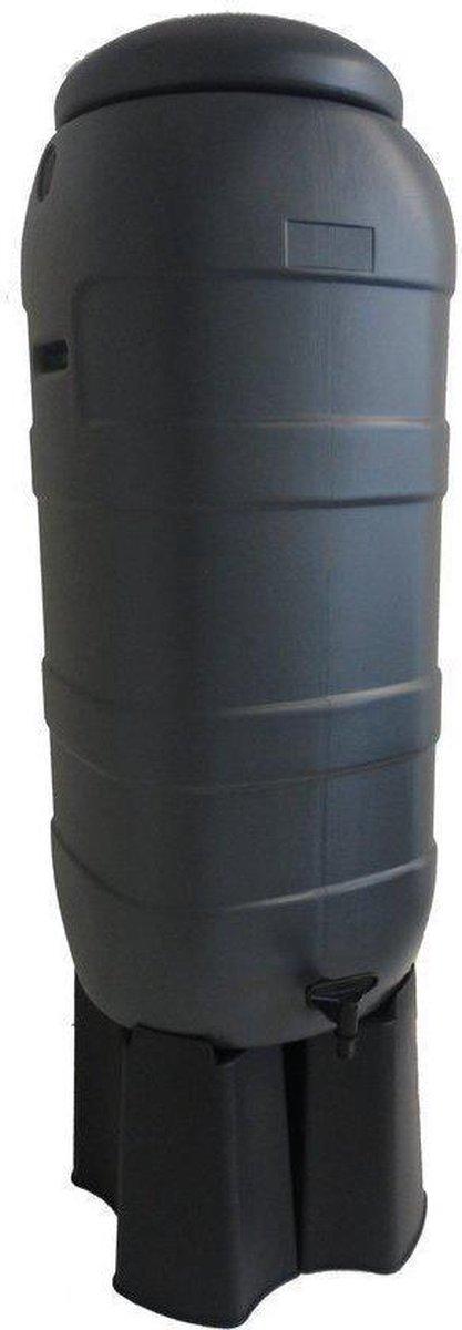 Regentonset Harcostar Rainsaver 100L grijs incl. voet