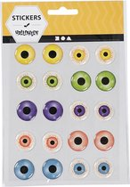 Creativ Company 28993 Kunststof Multi kleuren sticker