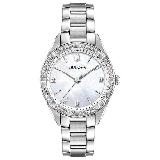 BULOVA – Horloge – Vrouwen – Zilverkleurig Ø 33 96R228