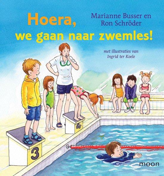 Hoera, we gaan naar zwemles - Marianne Busser |