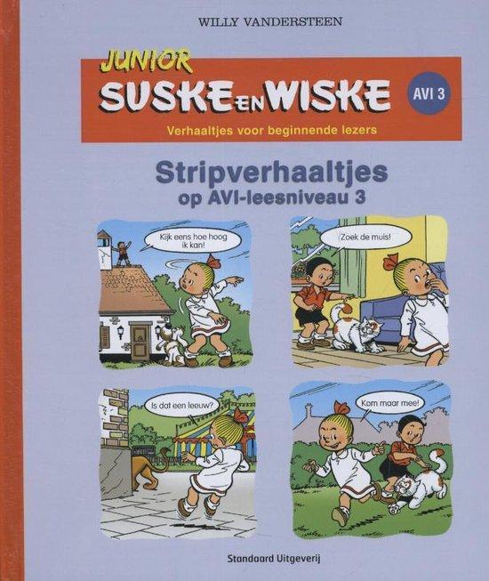 Boek cover Junior Suske en Wiske  - Stripverhaaltjes AVI (E3/M4) van Hetty van Aar (Hardcover)