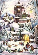 Adventskalender 77  Kerst in het Kasteel. (geen chocolade)