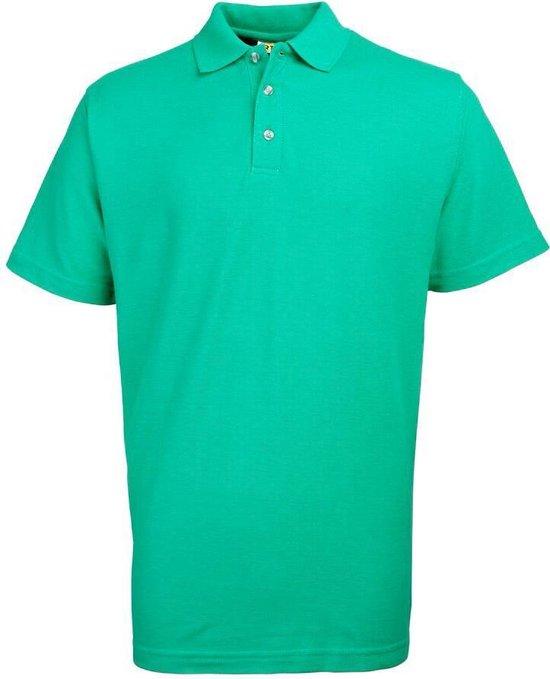 RTY Workwear Poly/cotton pique polo, Kleur Emerald Green, Maat 4XL