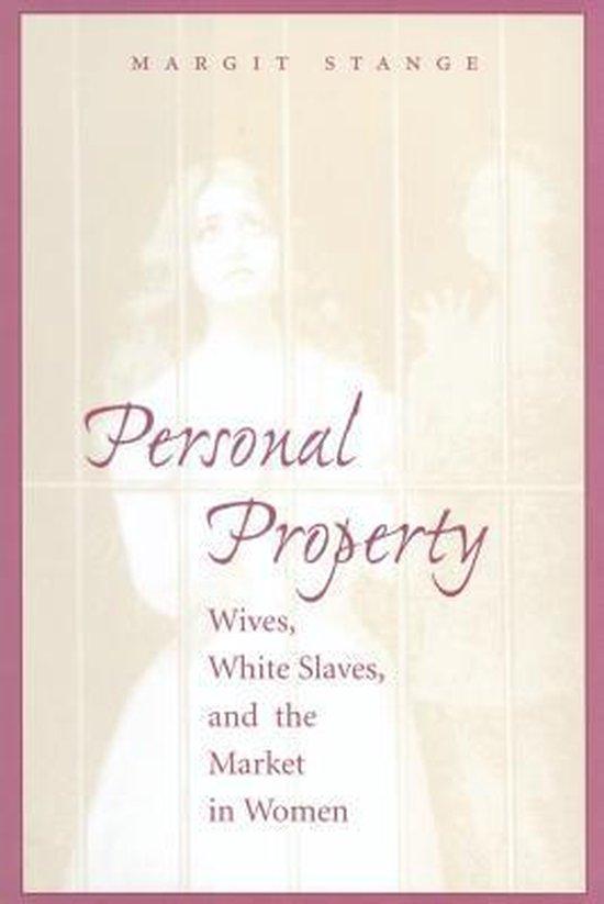 Boek cover Personal Property van Margit Stange (Paperback)