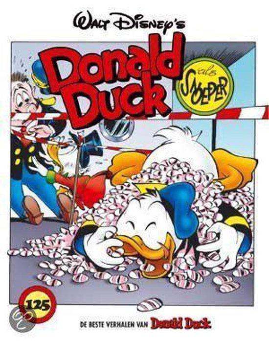 Cover van het boek 'Beste verhalen Donald Duck / 125 Donald Duck als snoeper'