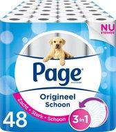 Page toiletpapier - Origineel schoon - 48 rollen
