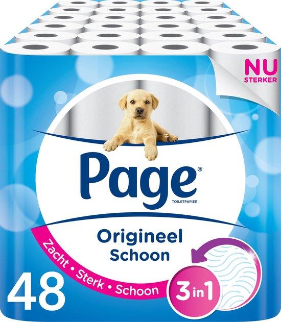 Page Origineel Schoon Toiletpapier - 48 rollen