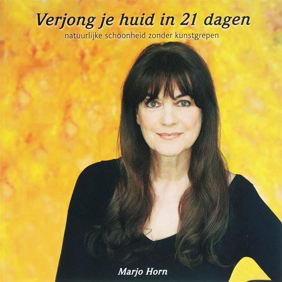 Boek cover Verjong je huid in 21 dagen van Marjo Horn (Paperback)