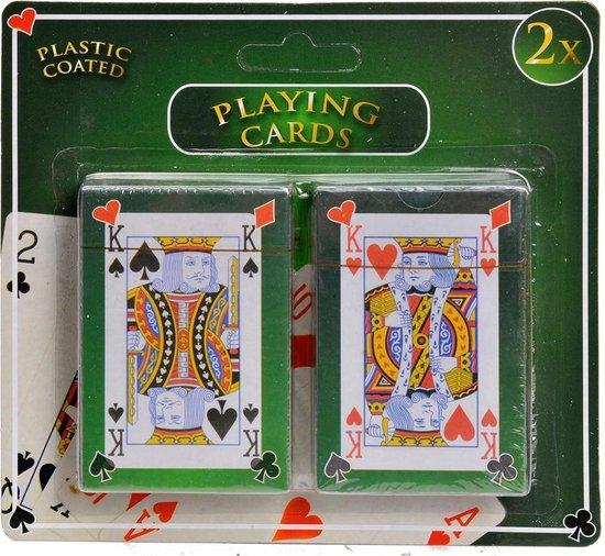 Speelkaarten - Geplastificeerd - 2 Stokken