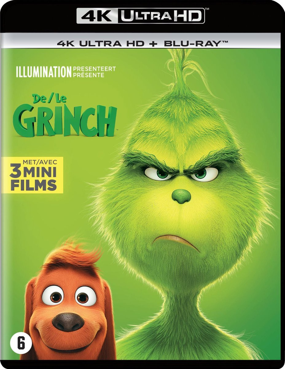 De Grinch (4K Ultra HD Blu-ray)-