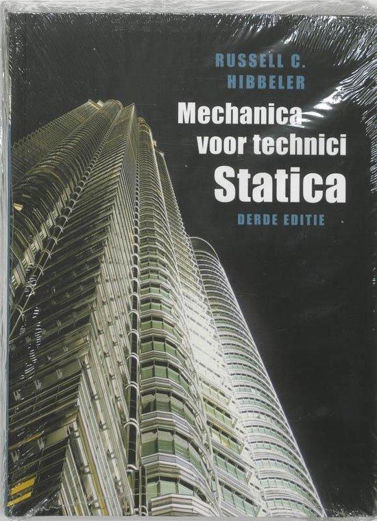 Mechanica Voor Technici / Statica - R.C. Hibbeler |
