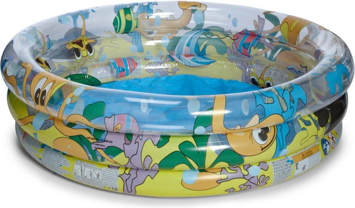 Zwembad 102 x 25 cm - 3 Rings Ocean Life