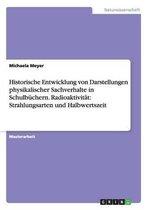 Historische Entwicklung von Darstellungen physikalischer Sachverhalte in Schulbuchern.Radioaktivitat