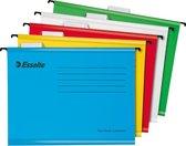 Esselte Classic Hangmap A4 - Assorti - 10 stuks - Voor Thuiswerken - Ideaal Voor Thuiskantoor