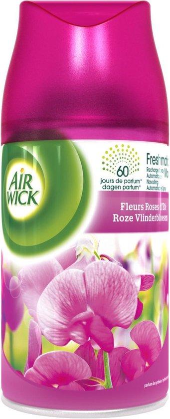 Air Wick Freshmatic Automatische Spray Luchtverfrisser - Roze Vlinderbloesem Navulling - 3 Stuks - Voordeelverpakking