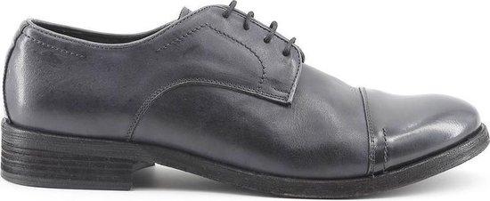 Made in Italy - Heren Nette schoenen Alberto Grigio - Grijs - Maat 40