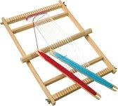 Speelgoed houten weefgetouw deluxe