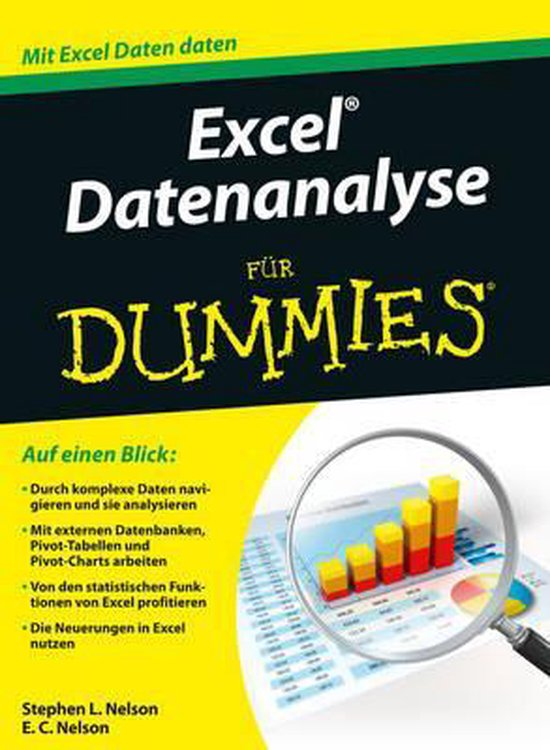 Boek cover Excel Datenanalyse fur Dummies van Stephen L. Nelson (Paperback)