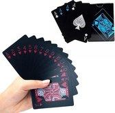 2 PACK Speelkaarten waterdicht - Speelkaarten - Volwassenen - Poker kaarten - Luxe Blauw & Rood
