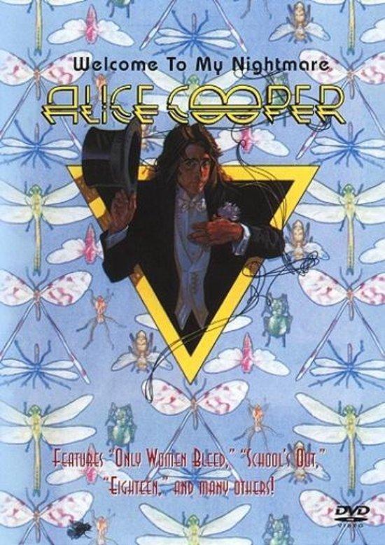 Cover van de film 'Alice Cooper - Welcome To Nightmare'