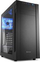 Sharkoon S25-W - PC Behuizing – Zwart