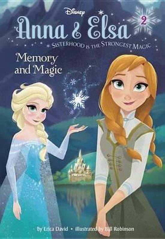 Boek cover Disney Frozen: Memory and Magic van Erica David (Hardcover)