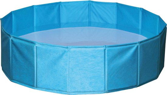 Kerbl - Hondenzwembad - 80 x 80 x 20 cm - Blauw - S