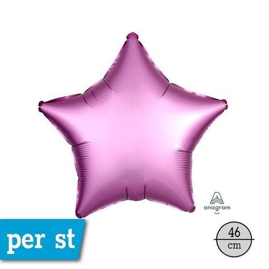 Folieballon Ster Lila Matte - 48 Centimeter