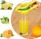 Premium Citruspers - Limoenpers - Sinaasappel pers - Juicer - Handmatige multifunctionele Fruitpers - Metaal - Cocktail tools -