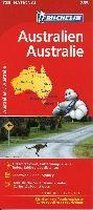 Michelin Nationalkarte Australien 1 : 4 000 000
