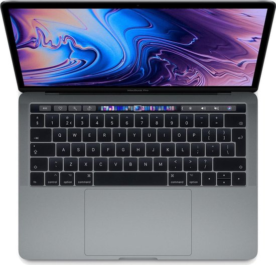 Apple MacBook Pro (2019) Touch Bar MV972 - 13.3 Inch - 512 GB - Spacegrijs