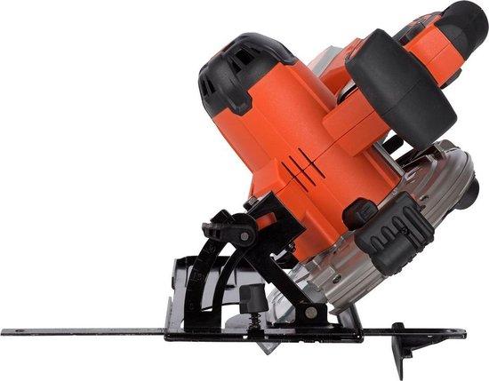 Powerplus Dual Power POWDP2520 Cirkelzaag - 20V – Ø165 mm - (zonder accu)