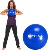 Trendy Sport Melina - Fitnessbal - Pilates bal - 25 cm - Blauw - 60 kg belastbaar