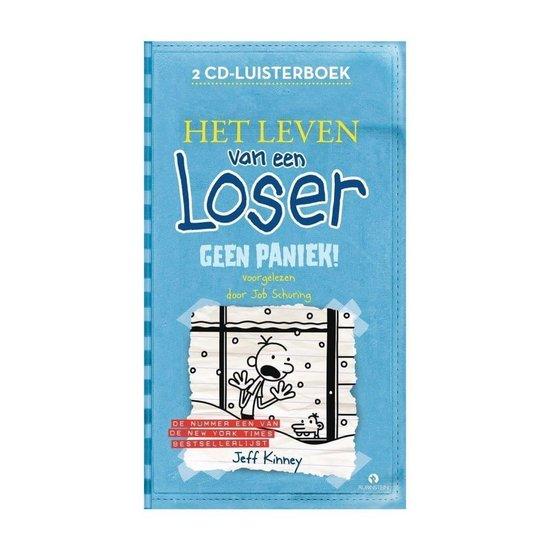 Het Leven van een Loser: Geen Paniek! - Jeff Kinney - 2 cd - Luisterboek - Jeff Kinney |