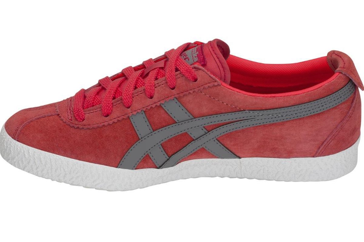 Onitsuka Tiger Mexico Delegation D6E7L-600, Mannen, Rood, Sneakers maat: 48 EU Sneakers