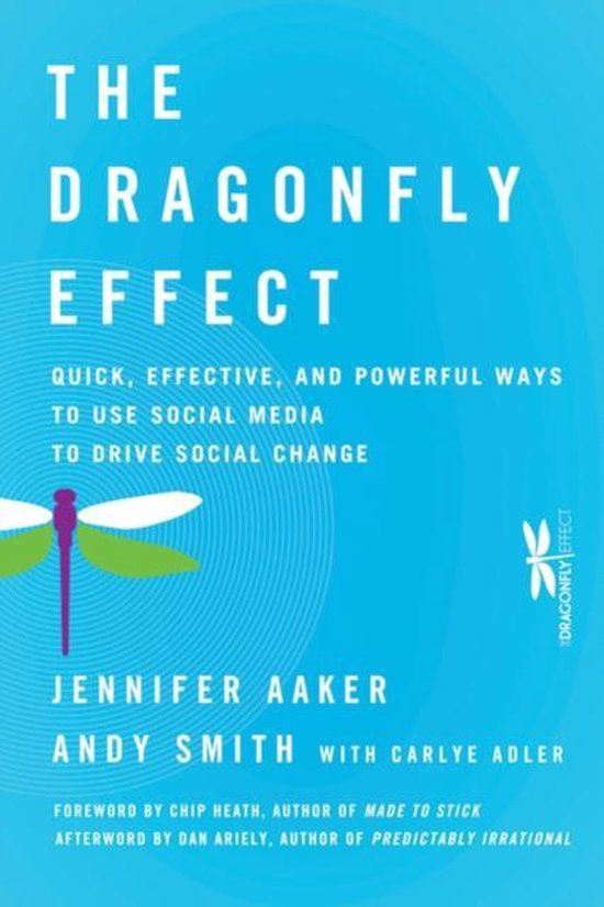 Boek cover The Dragonfly Effect van Jennifer Aaker (Hardcover)