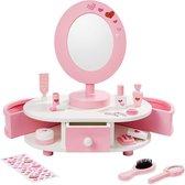 """howa Beauty Center Kaptafel """"Little Lady"""" met Accessoires van hout voor kinderen 5001"""