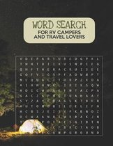 Word Search For RV Campers and Travel Lovers