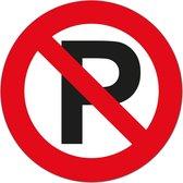 Carpoint Sticker Parkeren Verboden