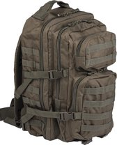 US Assault pack Molle rugzak Olive ca 36 L