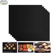 BÖR - 6 BBQ matjes - antikleef teflon grill ovenbeschermer