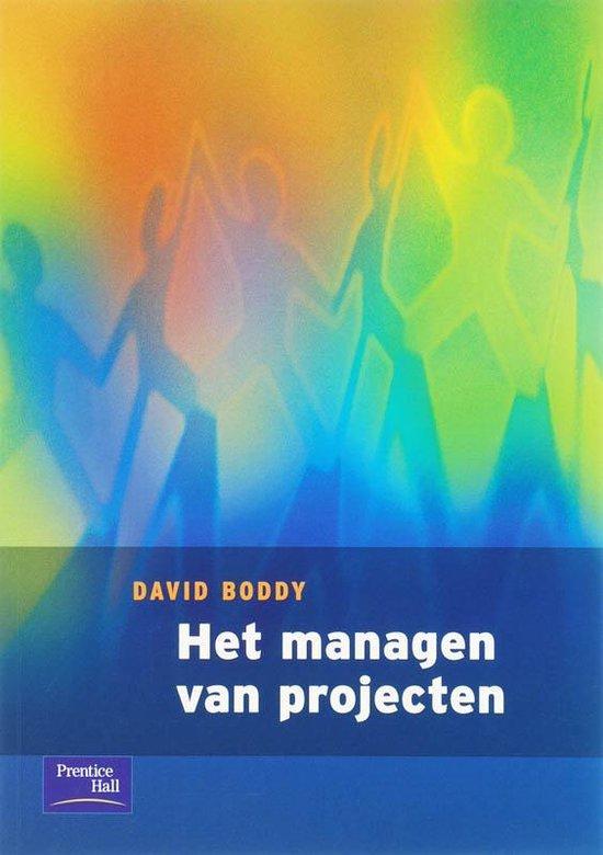 Het managen van projecten - D. Boddy pdf epub